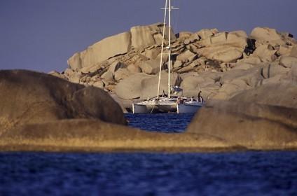 France - Corsica - Bonifacio Straight - Lavezzi Islands