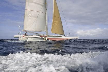 Yacht Racing, Multihull, ORMA 60, Lakota, Steve Fossett