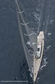11 10 2014, Alicante (ESP), Volvo Ocean Race 2014-15 start, Super Yacht Aglaia