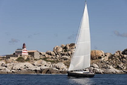 02 05 2012 - Bonifacio (FRA, Corsica) - Chantier Beneteau - Sense 55