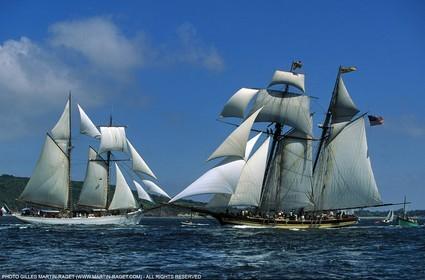 Tall Ship in Brest - 1996
