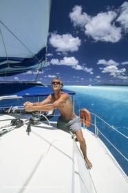 Sailing, cruising, people, hommes