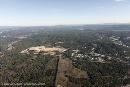 29 10 2012 - Val de Durance (FRA, 84) - ITER project under work