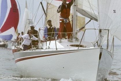 Aout 1987 - Cowes (UK, IOW) - Champagne Mumm Admiral's Cup - New Zealand Team