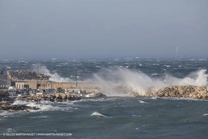 14 03 13 - Marseille (FRA) - Mistral Gale