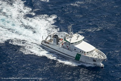 Al Azizi -  H2X boatyard - Oceanographjic research ship - Sea trials off La Ciotat (FRA,13) - 29 07 2014