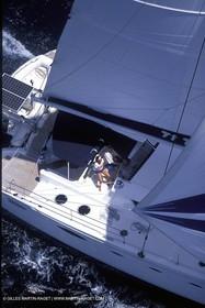 Cruising multihull mooring