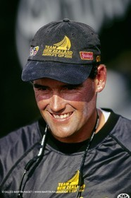 Russell Coutts - America's Cup 2000 - Team New Zealand - Auckland (NZL)