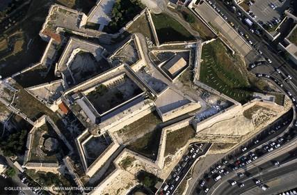 Marseilles, St Nicolas fortress