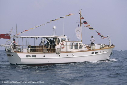 Classic Yachts, Classic Motor yachts, Joanne of Carth