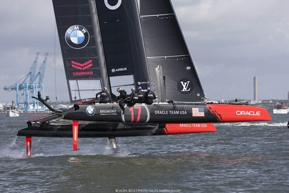 29 08 2015, Göthenburg, (SWE), 35th America's Cup, Louis Vuitton America's Cup World Series Göthenburg 2015, Race Day 1