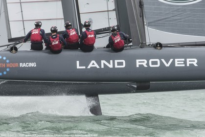 20 07 2015, Portsmouth (GBR), 35th America's Cup, Louis Vuitton America's Cup World Series Portsmouth 2015, Training Day 1