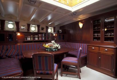 Interiors - Classic yachts