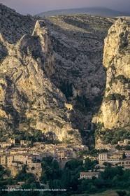 France, Provence, Gorges du Verdon, Moustiers Sainte Marie