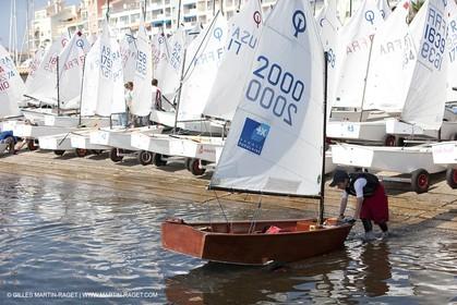 24 05 2010 - Hyères (FRA,83) - wooden optimist