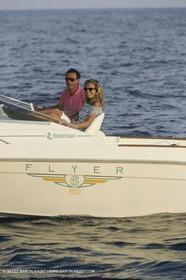 Moteur, croisière, Powerboating, cruising