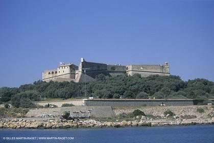 France, Provence, Côte d'Azur, Littoral, Fort Carré, Antibes