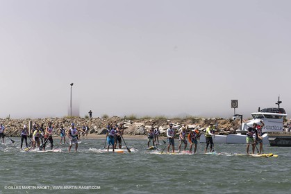 31 08 2013 - San Francisco (USA,CA) - 34th America's Cup - AC Open - Stand Up Paddle