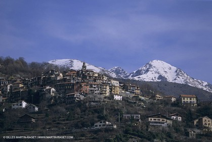 France, Côte d'Azur, Village Perchés des Alpes Maritimes, Belvédère