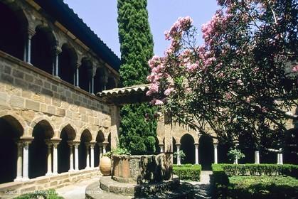 Fréjus (FRA,83) - cathedral cloister