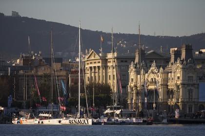 11 12 2014, Barcelona (ESP), Barcelona World Race 2014-15