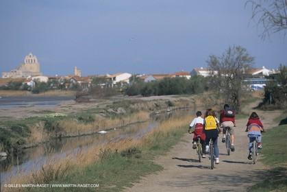 France, Provence, Camargue, Vélo tourisme, cycling