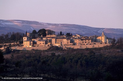 Blauvac - Higher Provence village