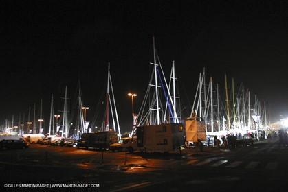 Route du Rhum 2002 - Saint Malo - Preparation
