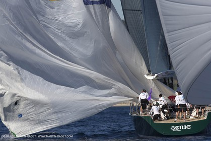 30 09 2013 - Saint-Tropez (FRA,83) -  Les Voiles de Saint-Tropez 2013 - Day 1 - Wally Yachts and J Class