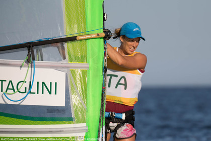 14 08 2016, Rio de Janeiro (BRA), 2016 Olympic Games, Sailing, RSX Women medal race, Flavia Tartaglini (ITA)