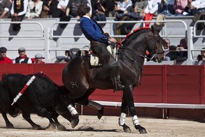 Monday 05 04 2010 - Arles (FRA,13) - Feria 2010 - -Corrida de rejon - Fermin Bohorquez - Pabloe Hemoso de Mendoza - Andy Cartagena - Toros Bohorquez