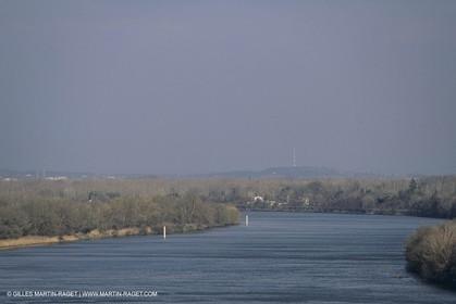 France, Provence, The Rhône River