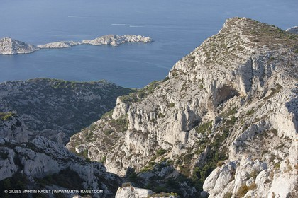10 092009 - Marseille (FRA, 13) - Les Calanques - Massif de Marseilleveyre - Vallon de la Mounine - Roc St Michel