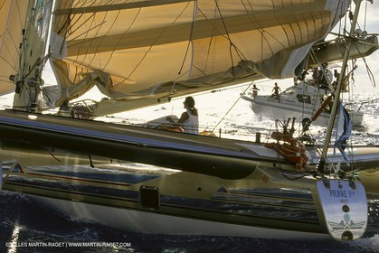 Yacht Racing, Multihull, ORMA 60, Florence Arthaud, Groupe Pierre 1er