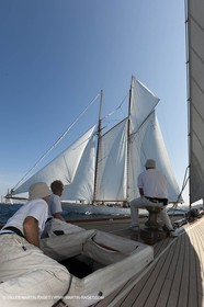 01 10 2011 - Saint Tropez (FRA,13) - Voiles de Saint Tropez 2011 - Classic Yachts - Day 5 - Onboard Mariquita