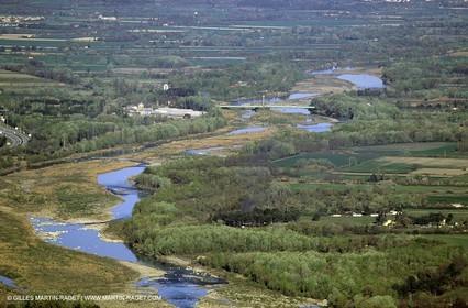Durance river near Puy Sainte Reparade