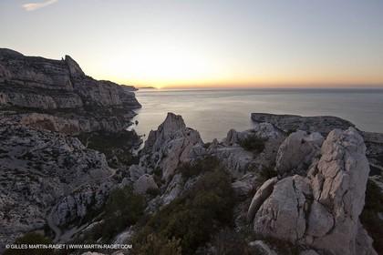 Décember 2009 - Marseille (FRA) - Les Calanques - Sugiton