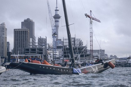 Sailing, Yacht Racing, America's Cup XXX, Auckland (NZL), 2000, Young America