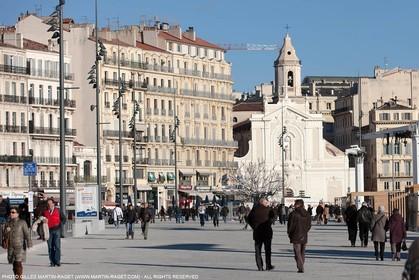 11 01 2013 - Marseille (FRA,13) - Marseille Provence 2013, European capital of Culture, Vieux Port refit