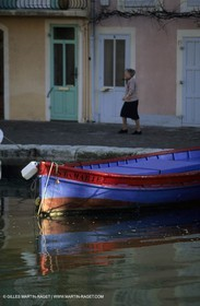 local fishing boat in Martigues
