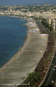 Main beach in Nice
