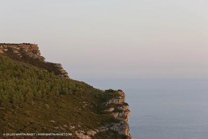 08 09 2009 - Marseille (FRA, 13) - Les Calanques - Cape Canaille and Soubeyrannes cliffs