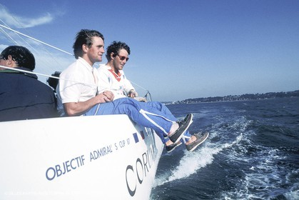 1993-1995 - Champagne Mumm Admiral's Cup - Corum Sialing Team