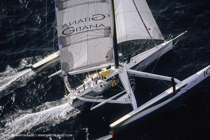 Yacht Racing, Multihull, ORMA 60, Lionel Lemonchois, Gitana