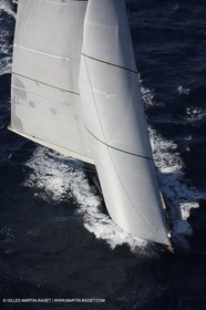 07 10 2006 - Saint Tropez (Fr) - Voiles de Saint Tropez 2006 - Classic Yachts - Shamrock V