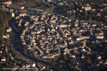 29 10 2012 - Apt (FRA,84) - Luberon as seen from above