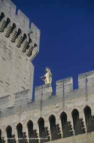 France, Provence, Avignon, Pope palace, Palais des Papes