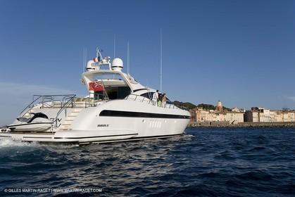 06 09 2007 - Saint Tropez (FRA, 83) - Superyachts - Motoryachts - Mangusta 92 Triple Fun in Saint Tropez