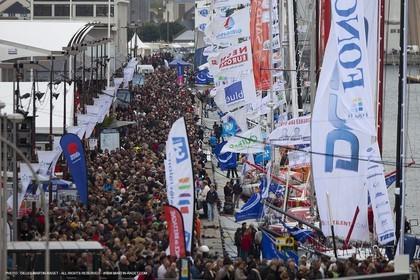 29 10 2010 - Saint Malo (FRA, 35) - Route du Rhum 2010 - Ambiances in Saint Malo prior to the start