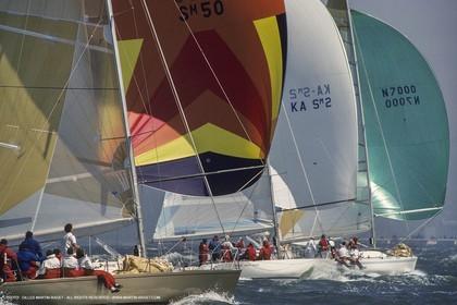 Sailing, Yacht Racing, One Ton Cup 1987, San Francisco (USA, CA)